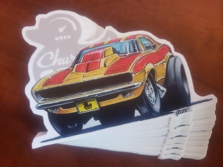 The Bitchin' Camaro, Art by LEE GOODE