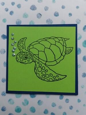 Sea Turtle Card Kit