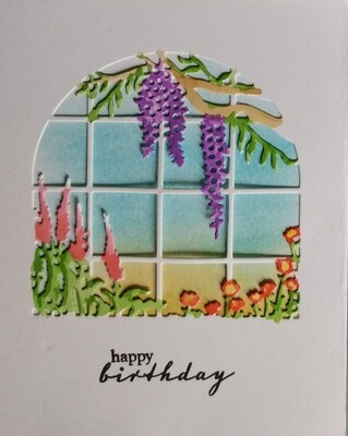Hero Garden Window Card