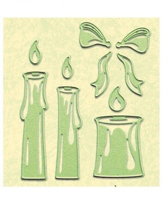Candle Die and Emboss