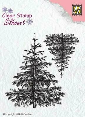 Christmas Fir Tree Stamp