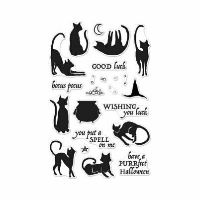 Luna Cats Stamp