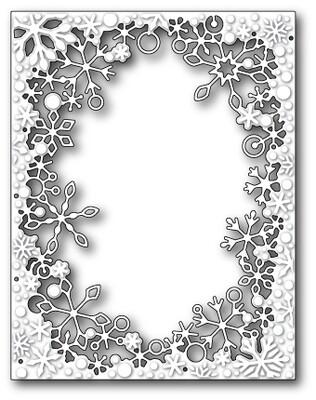 Dancing Snowflake Frame
