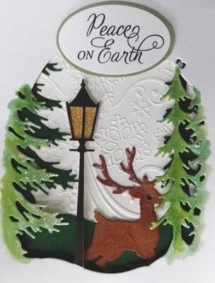 Lantern Scene Card Kit