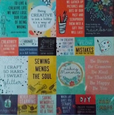 Be Creative Scrapbook Kit