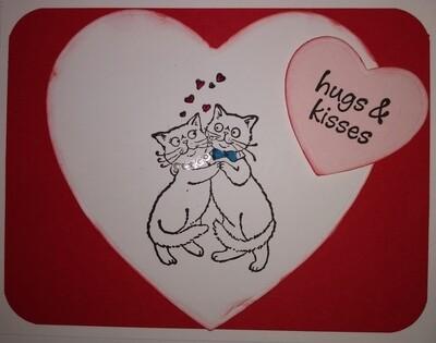 Dancing Valentine Cats