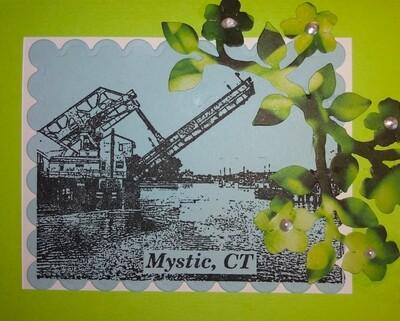Spring Mystic Bridge