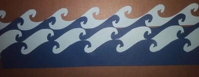 Waves Die Cuts