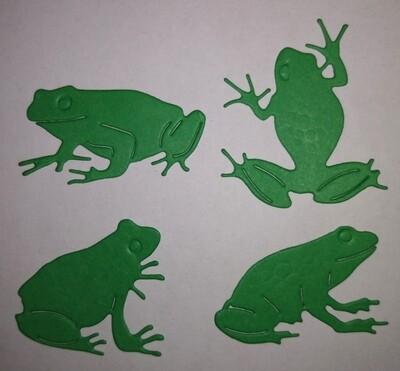 Playful Frog Die Cuts