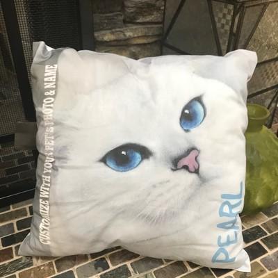 Kitty Photo Pillow