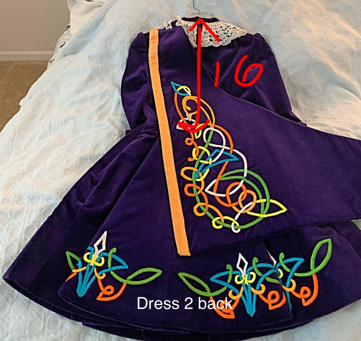 Vintage Irish Dance Dress