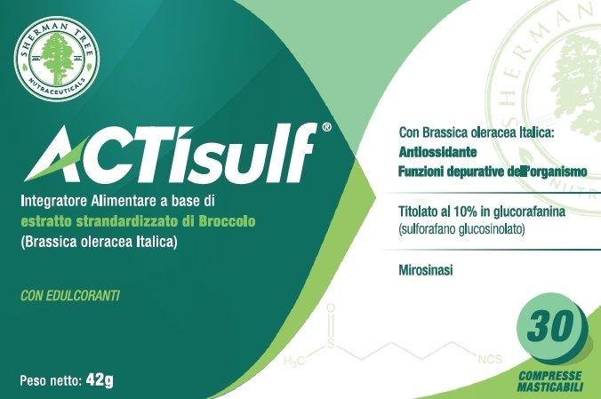 ACTISULF Sulforafano 600 mg 30 Cpr Masticabili