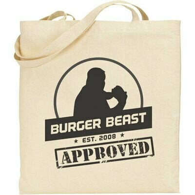 Burger Beast Tote Bag