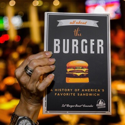 All About The Burger Book signed by Burger Beast