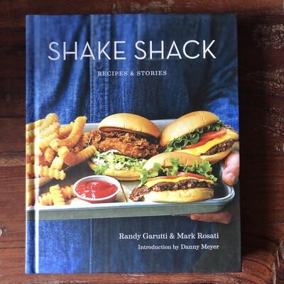 Shake Shack Cookbook signed by Randy Garutti & Mark Rosati