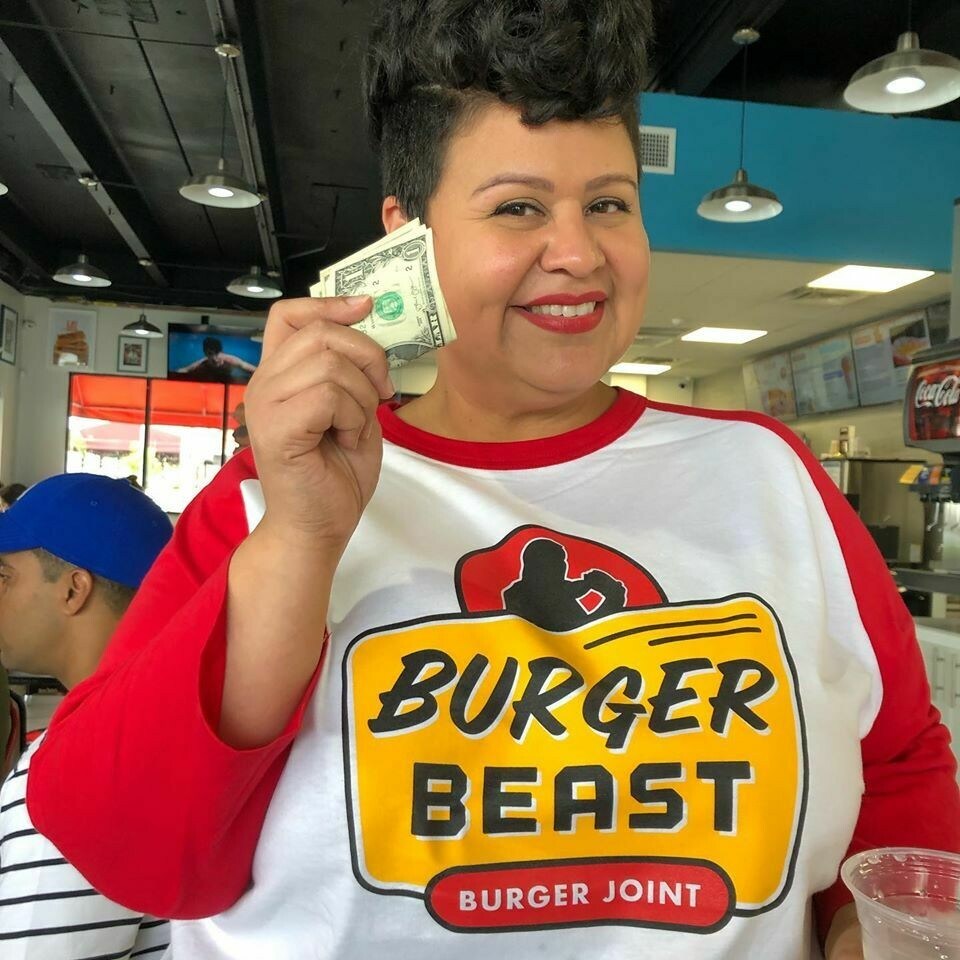 Burger Beast Burger Joint Retro Tee