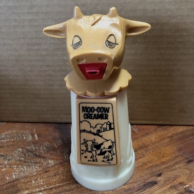1970's Vintage Whirley Industries Moo-Cow Creamer