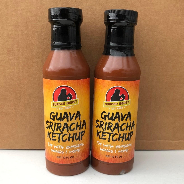 Guava Sriracha Ketchup by Burger Beast