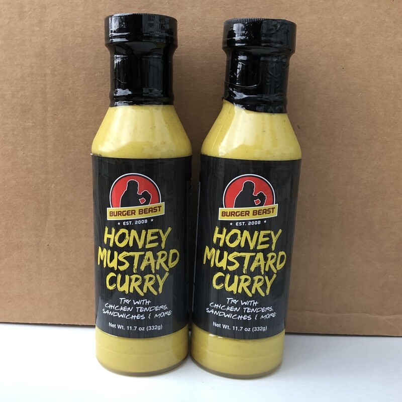 Honey Mustard Curry by Burger Beast