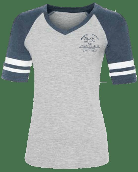 What If … Documentary Series Women's Baseball Tee