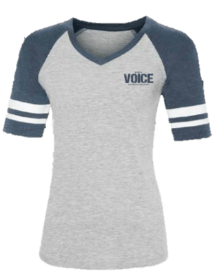 I AM A VOICE for Epilepsy Awareness Women's Baseball Tee