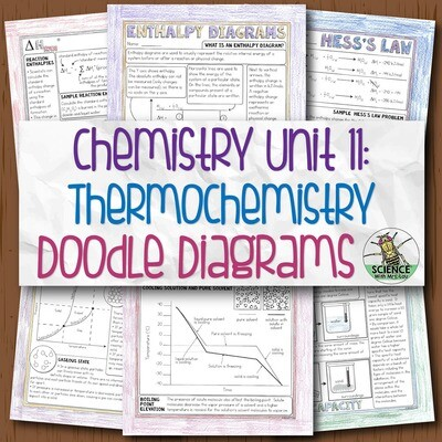 Chemistry Unit 11 Thermochemistry Doodle Diagrams