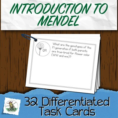 Intro to Mendel Task Cards