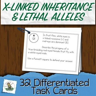Sex-linked Alleles Task Cards