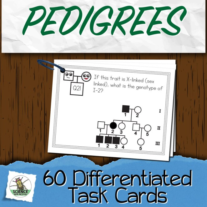 Pedigrees Task Cards