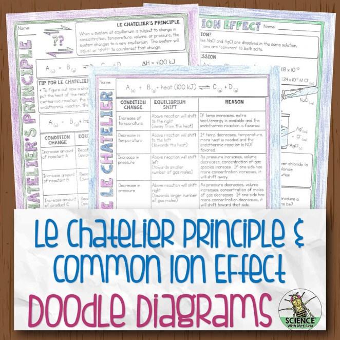 Le Chatelier Doodle Diagram Notes