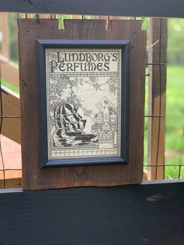 Vintage Wall Art, Vintage Advertising, Reclaimed Wood