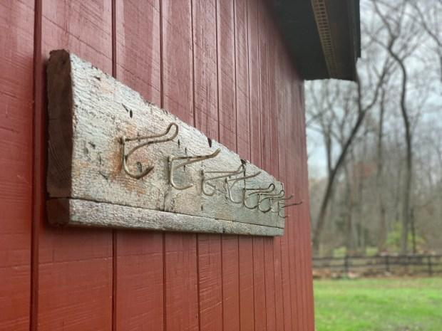Entryway Key Hooks, Leash Hooks, Reclaimed Wood