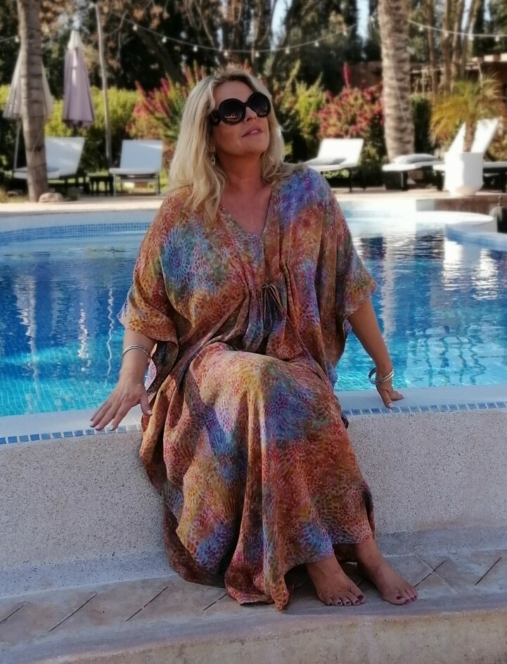 KASBAH Kesi -  Kaftan with adjustable tie front