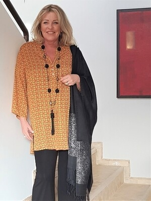 KASBAH Tangeni - Loose fitting tunic
