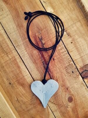 Kasbah Naylani Silver/Navy - Necklace