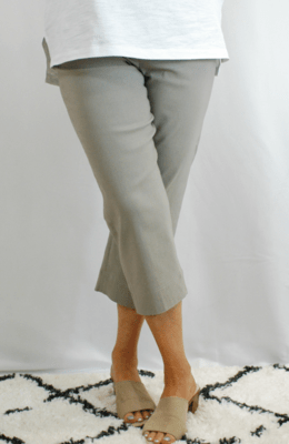 Robell Marie - Crop Trousers Taupe