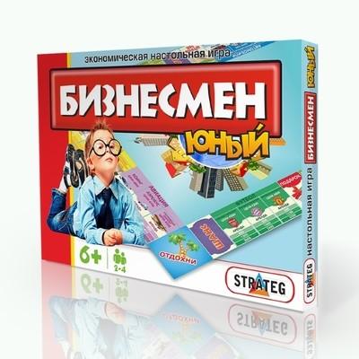Экономическая игра Юный бизнесмен Стратег 331