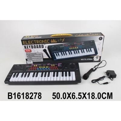 Электроорган (220v/ на бат.) с микрофоном B1618278