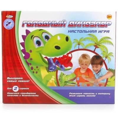Настольная игра Голодный динозавр Играем вместе B1324753-R
