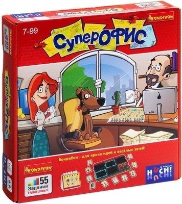 Логические игры Супер Офис Bondibon ВВ0960