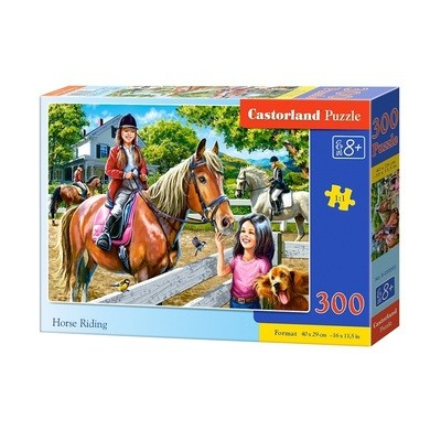 Пазл Castorland Верховая езда 300 деталей B-030095
