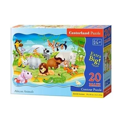 Пазл Castorland Maxi Животные Африки 20 деталей C-02276