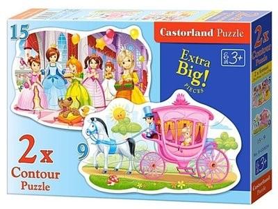 Пазл Castorland Бал принцесс 2-в-1 B-020034