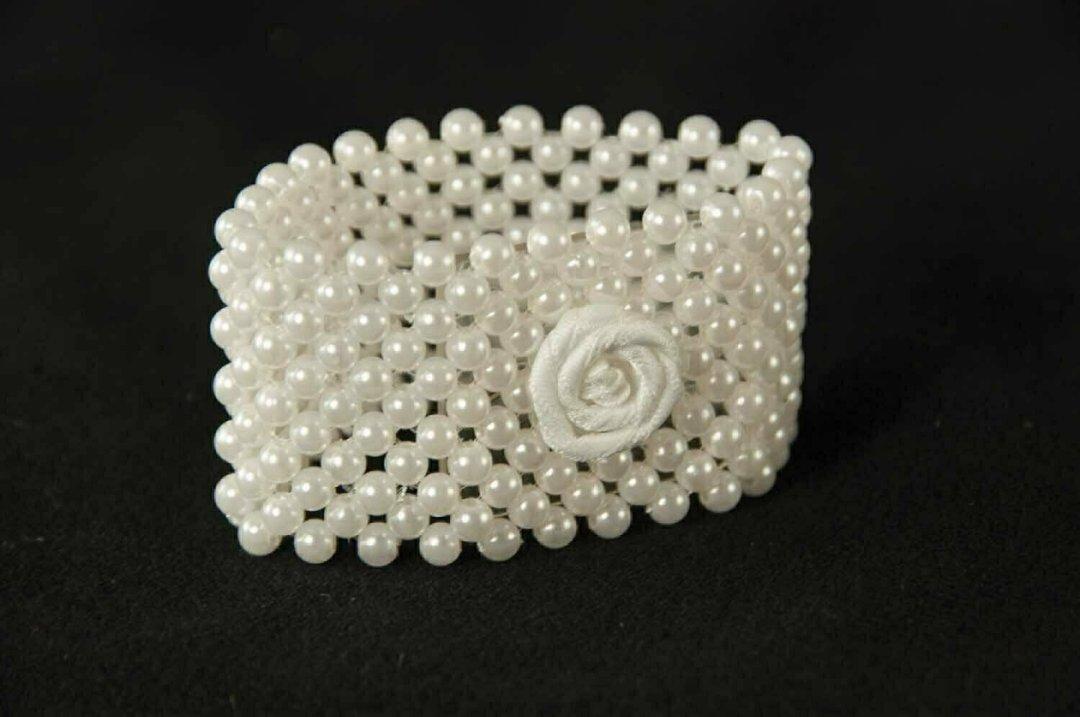 R112 - Mini Pearl Bracelet (Sugar) ( Forever Keepsake Bracelet)