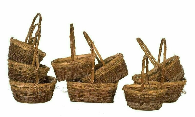 MS1528-3 - S/3 Assorted Shape Vine | Grass | Rope 7