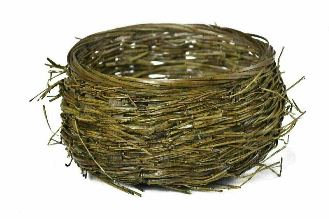 MS1151 - Large Birds Nest Basket with 6