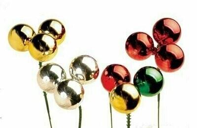 PLX3030RED - 30mm Plastic Ball Pick x 3