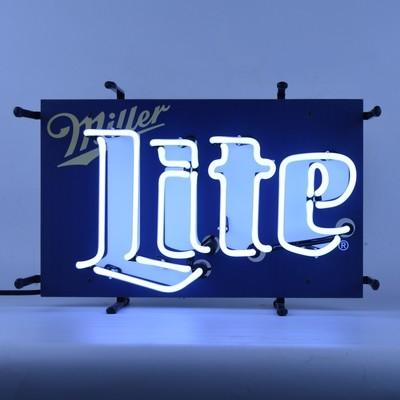Miller Lite Junior Neon Sign
