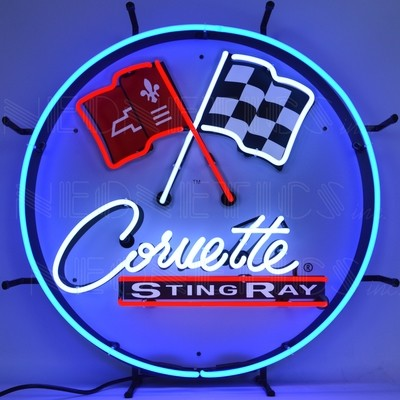 Chevrolet Corvette C2 Stingray Neon Sign