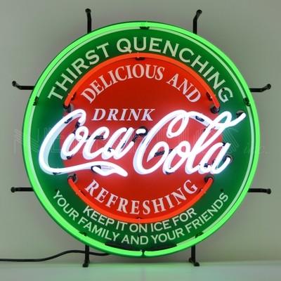 Coca-Cola Coke Evergreen Neon Sign